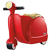 Skoot Kid's Ride On Suitcase, Red