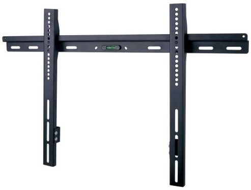 Black Universal Low Profile Wall Mount up to 55 inch