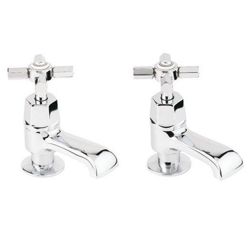 Deva Artesian Bath Taps Pair Chrome