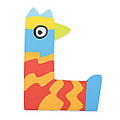 Tatiri Crazy Bird Letter L (Orange/Red)