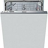 Hotpoint Aquarius LTB 4B019 Built-in Dishwasher - White