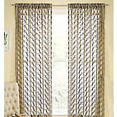Fairmont Rod Pocket Voile Panel - Grey