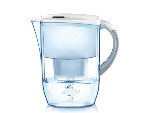 Brita 100007 Fjord Water Filter Cool White