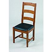 Origin Red Balmoral Oak Chair (Set of 2) - Medium Oak