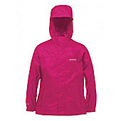 Regatta Kids Pack It Waterproof Jacket - Pink