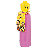LEGO Pink Drinking Bottle