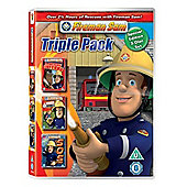 Fireman Sam - Towering Inferno / Danger By The Double / S.O.S. Sam  (DVD Boxset)