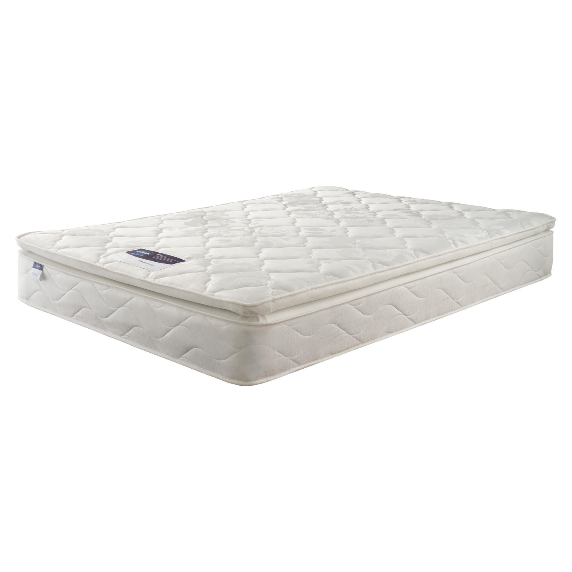 Silentnight Miracoil Pillowtop Fiji King Mattress at Tesco Direct