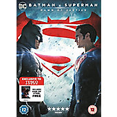 Batman V Superman / Man Of Steel DVD