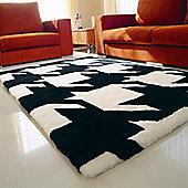 Bowron Sheepskin Shortwool Design Vertigo Rug - 180cm H x 120cm W x 1cm D