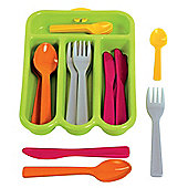 Gowi Toys 454-81 Cutlery Set (Green)