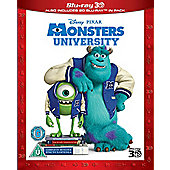 Monsters University - 3D Bluray, 2D Bluray