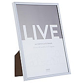 Tesco Basic Photo Frame A4, White