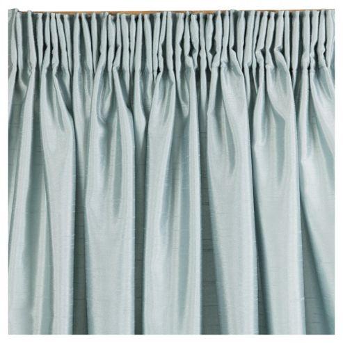 Faux Silk Lined Pencil Pleat Curtains W112xL229cm (44x90
