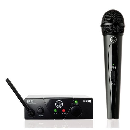 AKG WMS40 Mini Vocal Set Wireless System - ISM1