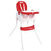 My Child Graze Highchair - Red
