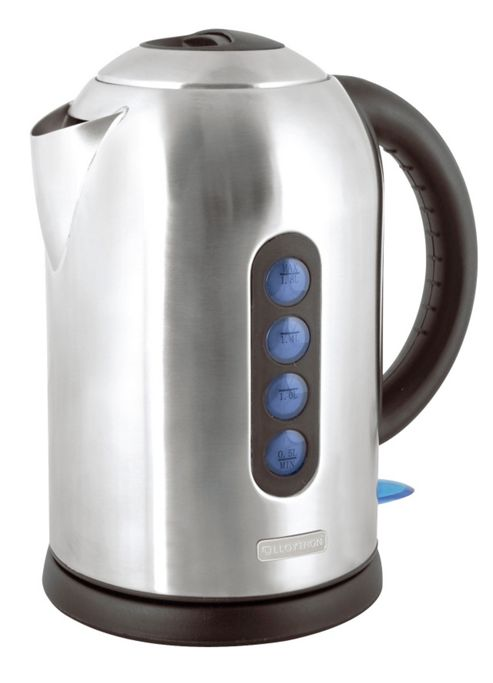 Lloytron E1507SS 1.8 litre 3kw 360 Rapid Boil Cordless Kettle - Stainless Steel