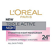 L'Oreal Paris Dermo Ex Triple Active Night Pot 50ml