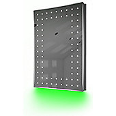 Ambient Shaver LED Bathroom Illuminated Mirror With Demister Pad & Sensor K43sg