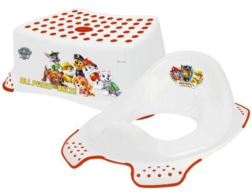 Buy Paw Patrol Step Stool Amp Toilet Training Seat Combo