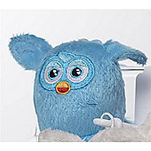 Furby 7cm Keychain - Plush, No Sound - Blue