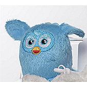 Furby 7cm Keychain - Plush, No Sound - Blue
