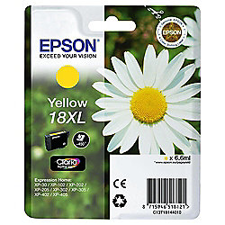 Epson 18XL (C13T18144010 YXL) Printer Ink Cartridge - Yellow