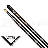Vater 5A Black Optic Wood Tip Sticks
