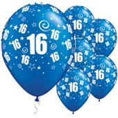 11` 16th Swirl Around Sapphire Blue (25pk)