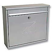 Sterling Elegance Silver Metal Postbox