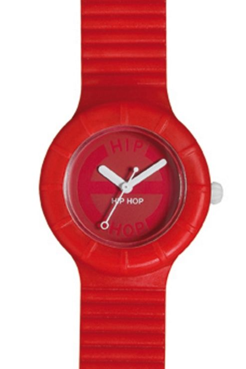 Hip Hop Unisex Full Colour Tomato Juice Strap Watch HWU0065