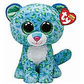 "TY Beanie Boo Buddy 9"" Plush - Leona the Leopard"