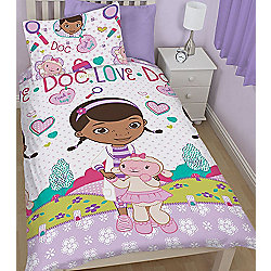 Doc McStuffins Single Bedding - Hugs