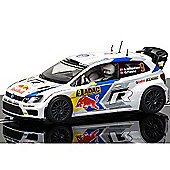 Scalextric Slot Car C3633 Volkswagen Polo Wrc