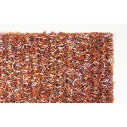 Dandy Stayfast Terracotta Runner Contemporary Rug - Runner 60cm x 180cm