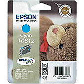 Epson DURABrite T0612 Ink Cartridge - Cyan C13T06124010