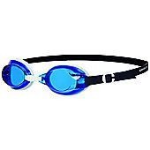 SPEEDO Jet Senior Adult UV Anti Fog Swimming Goggles - Blue