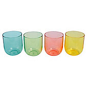Tesco Picnic Tumbler Stack multi brights 4pk