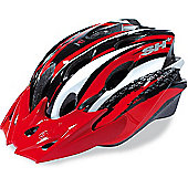 SH+ Street II Helmet: Red/Black S/M.