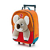 Trudi Kids Backpack Trolley Case - Koala