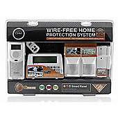 CnM Fully Wireless Alarm Home Office Garage Intruder Security Protection Burglar Alarm System