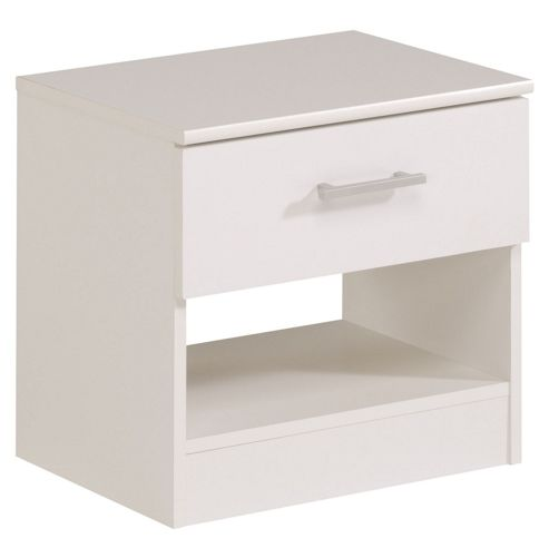 Parisot Soluce Essential 1 Drawer Bedside Table