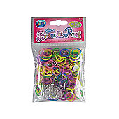 Jacks Glow Bracelet Refill Pack - 300 Loom Bands