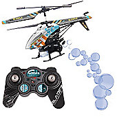 Bladez Bubble Blaster - Remote Control Helicopter with LED Lights