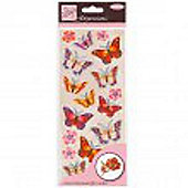 Dimensions Sticker Butterflies