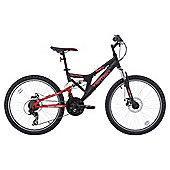 """Vertigo Eiger 24"""" Dual Suspension Mountain Bike, 14"""" Frame"""