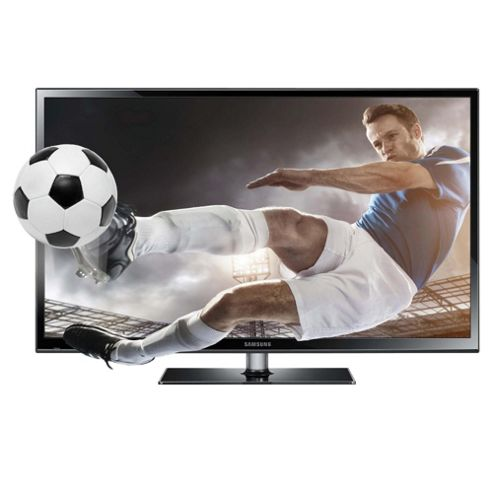 Samsung PS43F4900 43 Inch 3D HD Ready 720p Plasma TV With Freeview HD