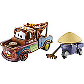 Disney Pixar Cars 2 Mater And Zen Master Pitty Vehicles