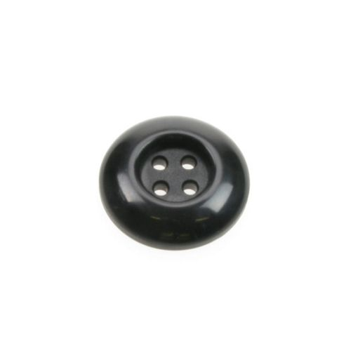 Dill Buttons 30mm Chunky Round Black