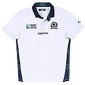Macron Scotland SRU RWC 2015 Replica Away Jersey - White